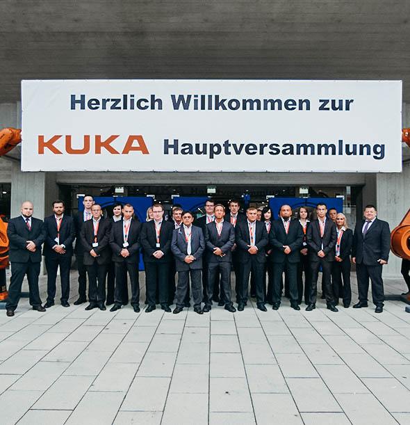 KUKA Hauptversammlung Veranstaltungsschutz